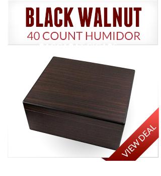 Black Walnut Humidor