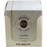 Ashton Cigarillos Box 100 (10 Packs of 10 Cigars)