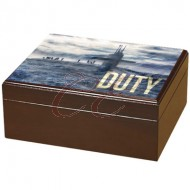 Armed Forces Duty 50 Count Humidor