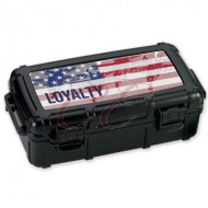 Armed Forces Loyalty 5 Count Travel Humidor