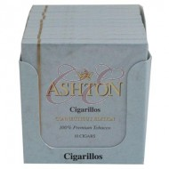 Ashton Cigarillos Connecticut Box 100 (10 Packs of 10 Cigars)