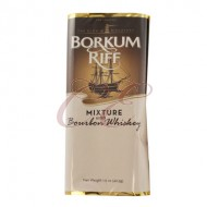 Borkum Riff Bourbon Whiskey Pipe Tobacco 5/1.5oz Packs (7.5 ounces)