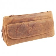 Brigham Pipe Pouch Brown