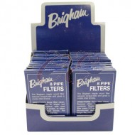 Brigham Pipe Filter 8 Pack Case 20