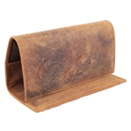 Brigham Rollup Pouch Brown