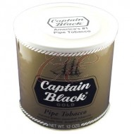 Captain Black Gold Pipe Tobacco 12oz Tin