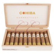 Cohiba Connecticut Robusto Tubo Box 10
