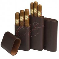 Craftsmans Bench Brown Churchill 60 Ring Guage Cigar Case