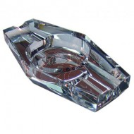 Crystal 2 Cigar Ashtray