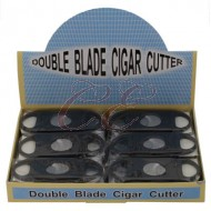 Cigar Cutter Double Blade 58 Ring Gauge Box 24