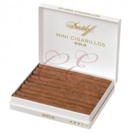 Davidoff Mini Cigarillo Gold Box 100 (5/20 Pack)