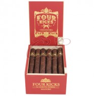 Four Kicks Maduro Corona Gorda Box 24