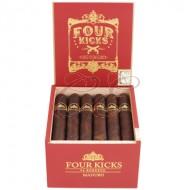 Four Kicks Maduro Robusto Box 24