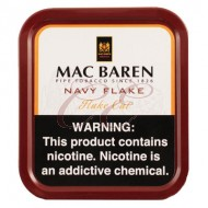 Mac Baren Navy Flake 100 Gram Tobacco Tin