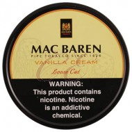 Mac Baren Vanilla Cream 100 Gram Tobacco Tin
