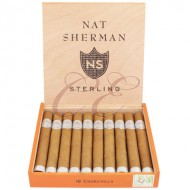 Nat Sherman Timeless Sterling Churchill Box 10