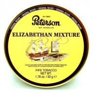 Peterson Pipe Tobacco Elizabethan Mixture 50 Gram Tin
