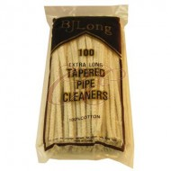 BJ Long Pipe Cleaners Tapered 12 Packs of 100