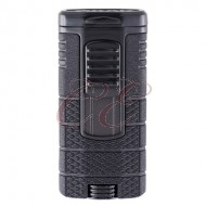 Xikar Tactical 3 Lighter Black/Black
