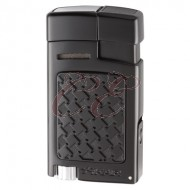 Xikar Forte Soft Flame Black Lighter