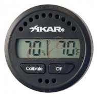 Xikar Round Digital Hygrometer Box 6