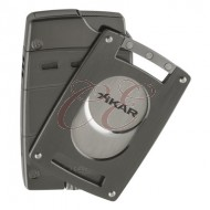 Xikar Ultra Combo Gunmetal Lighter and Cutter