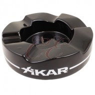 Xikar Wave Black Ashtray