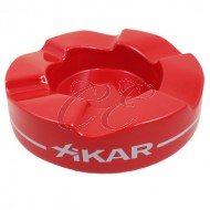 Xikar Wave Red Ashtray