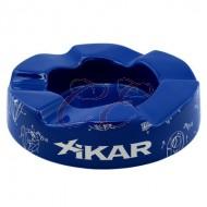 Xikar Wave Blue Ashtray