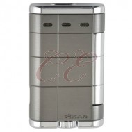 Xikar Allume Double Gunmetal Lighter