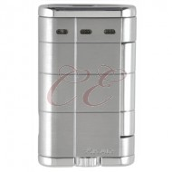 Xikar Allume Double Silver Lighter